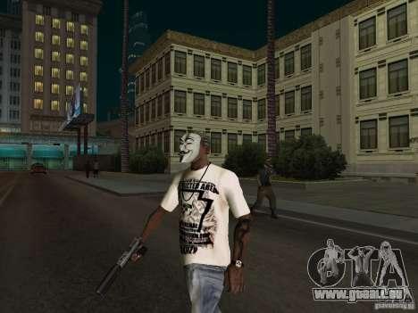 Guy Fawkes Maske für GTA San Andreas