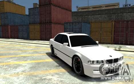 BMW 750i E38 HAMANN pour GTA 4 Vue arrière