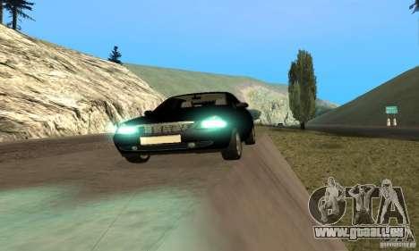 Van LADA priora pour GTA San Andreas vue arrière