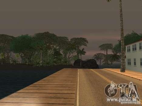 Das Geheimnis der tropischen Inseln für GTA San Andreas her Screenshot