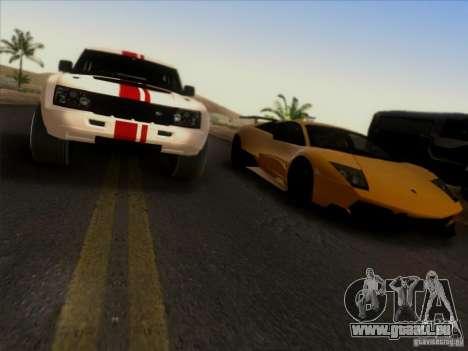Bowler EXR S 2012 pour GTA San Andreas vue intérieure