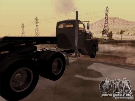 Mack B 61 für GTA San Andreas zurück linke Ansicht