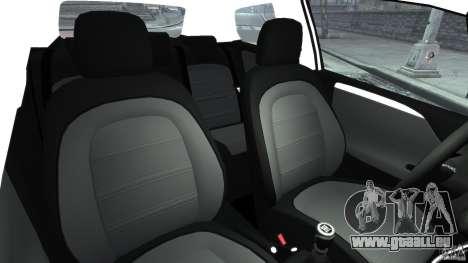 Fiat Punto Evo Sport 2012 v1.0 [RIV] pour GTA 4 est une vue de l'intérieur