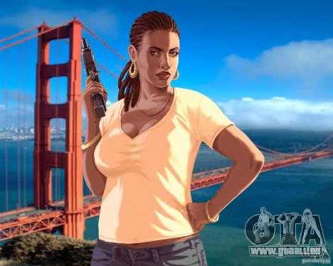 Écran de démarrage à San Francisco pour GTA 4 septième écran