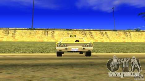Crazy Taxi - B.D.Joe pour GTA San Andreas vue de droite