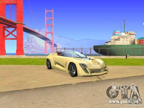 Bertone Mantide für GTA San Andreas linke Ansicht