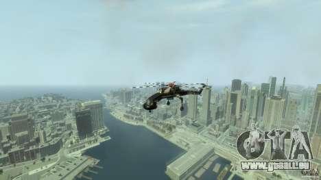 Liberty Sky-lift für GTA 4 Innenansicht