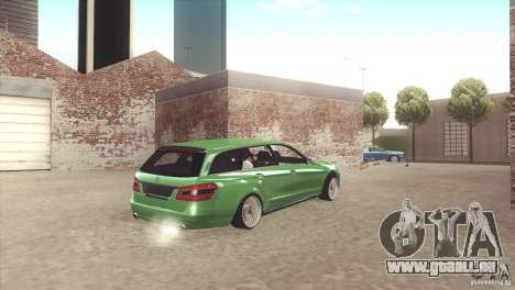 Mercedes-Benz E-Class Estate S212 für GTA San Andreas Innenansicht