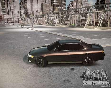 Toyota Mark II Tourer V pour GTA 4 Vue arrière de la gauche