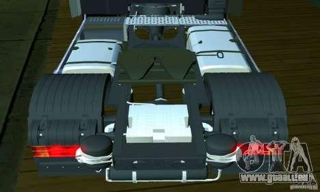 Mercedes-Benz Actros 2012 für GTA San Andreas Innenansicht