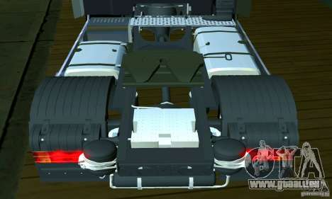 Mercedes-Benz Actros 2012 pour GTA San Andreas vue intérieure