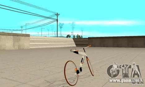 Nulla 2009 Mt Bike pour GTA San Andreas sur la vue arrière gauche