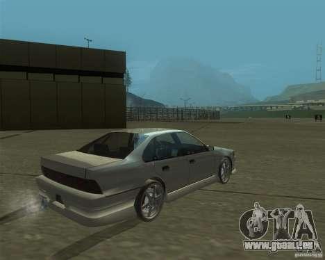 Nissan Cefiro A31 (D1GP) pour GTA San Andreas laissé vue