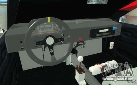 Forsage pour GTA San Andreas vue intérieure