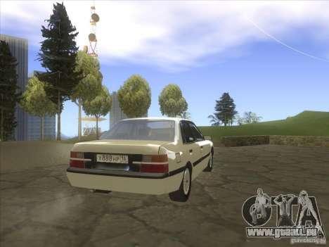 Mazda 626 DC 1986 pour GTA San Andreas sur la vue arrière gauche