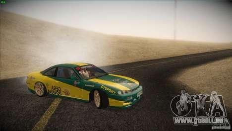 Nissan S14 für GTA San Andreas Seitenansicht
