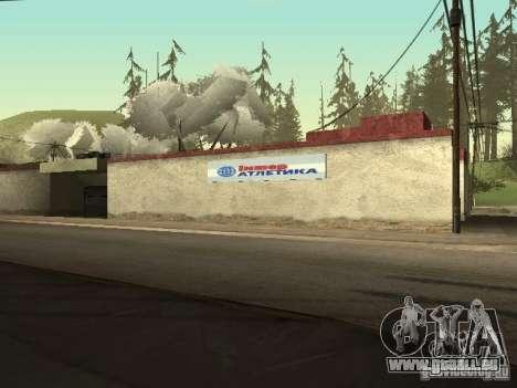 Le Village de Ivanovka pour GTA San Andreas troisième écran