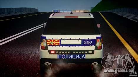 Range Rover Macedonian Police [ELS] für GTA 4-Motor