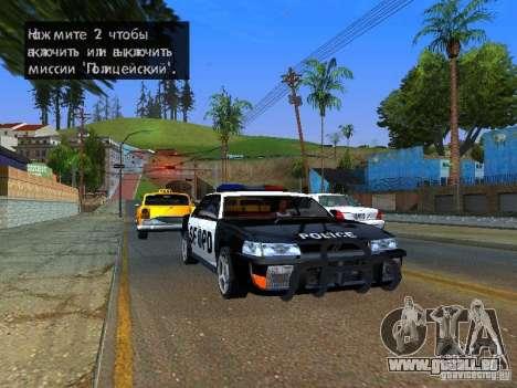 San-Fierro Sultan Copcar für GTA San Andreas