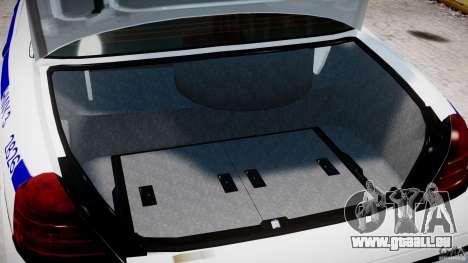 Ford Crown Victoria NYPD pour GTA 4 est un côté