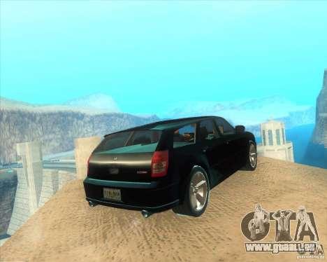 Dodge Magnum RT 2008 v.2.0 pour GTA San Andreas sur la vue arrière gauche