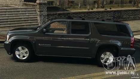 Chevrolet Suburban GMT900 2008 v1.0 pour GTA 4 est une gauche