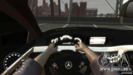 Mercedes-Benz S350 VIP pour GTA 4 est un côté