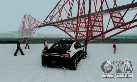 Dodge Charger 2012 Police für GTA San Andreas linke Ansicht