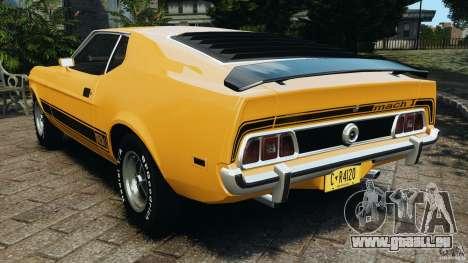 Ford Mustang Mach 1 1973 für GTA 4 hinten links Ansicht
