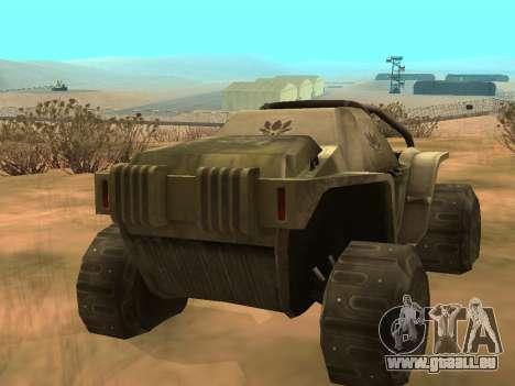 Ocelot UAZ-8 pour GTA San Andreas