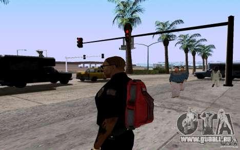 Le nouveau parachute pour GTA San Andreas quatrième écran