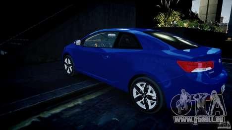 KIA Forte Koup pour GTA 4 Vue arrière de la gauche