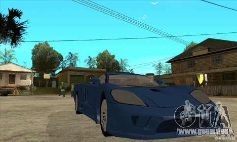 Saleen S7 v1.0 für GTA San Andreas Rückansicht