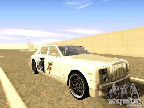 Rolls-Royce Phantom V16 für GTA San Andreas Motor