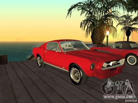 Ford Mustang 67 Custom für GTA San Andreas