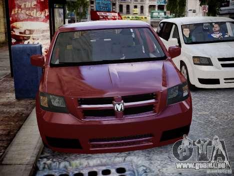 Dodge Grand Caravan SXT 2008 für GTA 4 Rückansicht