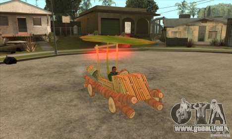 New Police Madagascar pour GTA San Andreas vue arrière