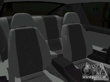 Nissan 200SX pour une vue GTA Vice City de l'intérieur