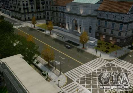 HD Roads für GTA 4 Sekunden Bildschirm