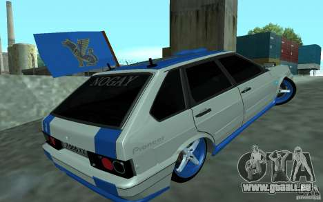 ВАЗ 2114 Nogay Tun pour GTA San Andreas laissé vue