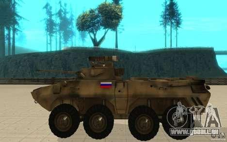 BTR-90 pour GTA San Andreas laissé vue