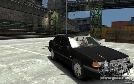 Volvo 850 Turbo 1997 pour GTA 4 Vue arrière