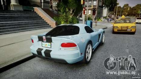 Dodge Viper SRT-10 pour GTA 4 est un côté
