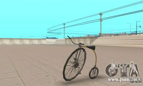 Penny-Farthing Ordinary Bicycle pour GTA San Andreas