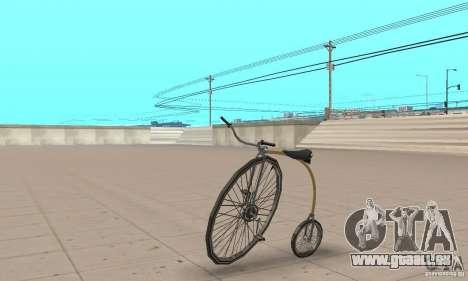 Penny-Farthing Ordinary Bicycle für GTA San Andreas