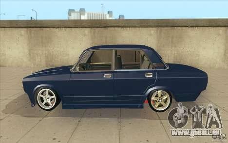 Lada VAZ-2107 rue dérive à l'écoute pour GTA San Andreas laissé vue
