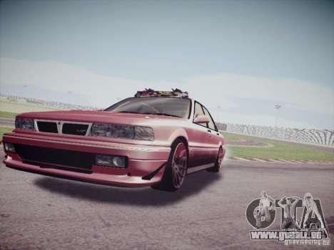 Mitsubishi Galant 1992 JDM für GTA San Andreas zurück linke Ansicht