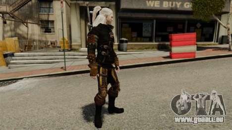 Geralt de Rivia v3 pour GTA 4 secondes d'écran