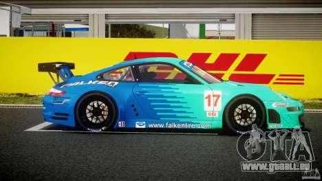 Porsche GT3 RSR 2008 pour GTA 4 est une vue de l'intérieur