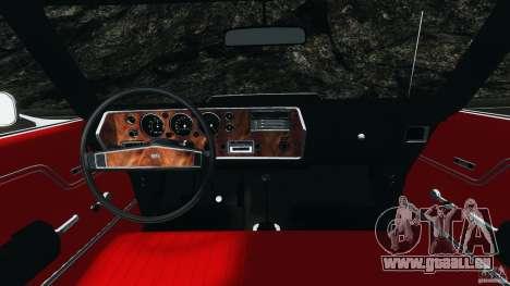 Chevrolet Chevelle SS 1970 v1.0 pour GTA 4 Vue arrière